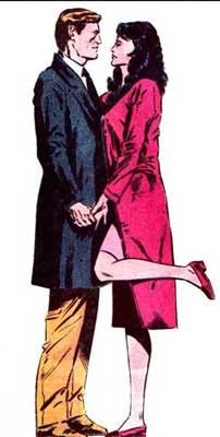 Felicity Smoak y Ed Raymond
